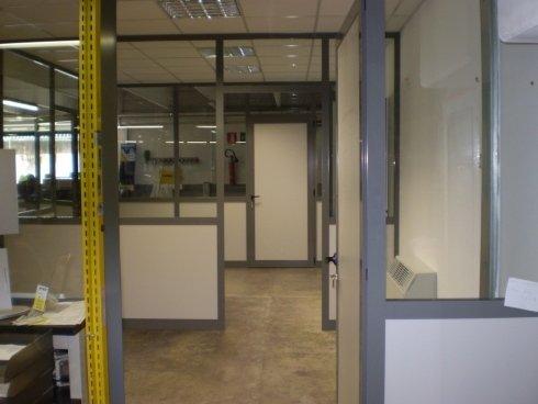 Parete divisoria per uffici Allfer Castenedolo Brescia