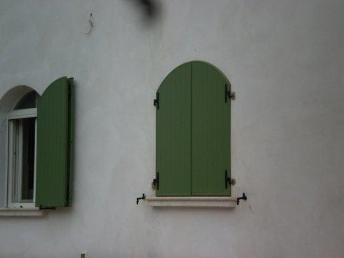 Persiane in alluminio per abitazione privata Allfer Castenedolo Brescia