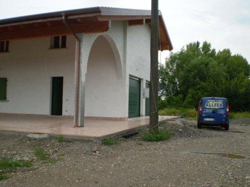 Persiane in alluminio ad arco per abitazione privata Allfer Castenedolo Brescia