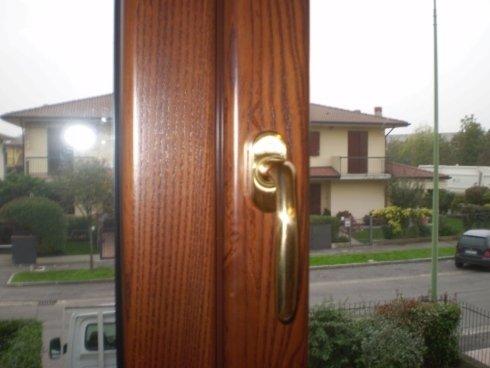 Finestra alluminio-legno per privato (legno interno) Allfer Castenedolo Brescia