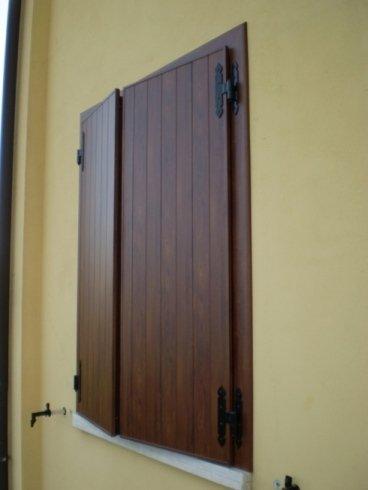Persiane in alluminio effetto legno Allfer Castenedolo Brescia