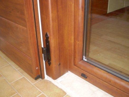 Monoblocco serramento alluminio-legno + persiana alluminio Allfer Castenedolo Brescia